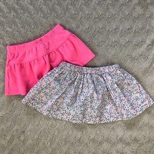 Carter's Baby Girl Skirt Bundle Size 3 Months Pink